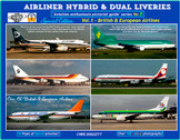 AEPGSHYBRIDVOL1 | Airliner hybrid and Dual Liveries Vol.1 British and European Airlines