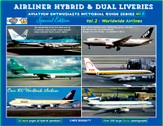 AEPGSHYBRIDVOL2 | Airliner Hybrid and Dual Liveries Vol.2 Worldwide Airliners