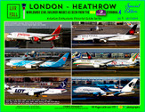 AEPGLHRVOL1 | Civil Airliner Images at Heathrow Vol.1 from the Premier Inn 2017-2019