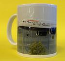 BA09LA320 | Gifts | Coffee Mug - Airbus A320 British Airways landing at Heathrow