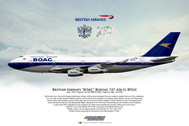 APGBYGC | Gifts | Airliner Print G-BYGC Boeing 747-436 BOAC