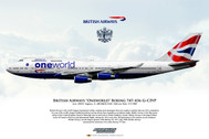 APGCIVP | Gifts | Airliner Print G-CIVP Boeing 747-436 British Airways New York to London record breaker