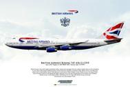 APGCIVF | Gifts | Airliner Print G-CIVF Boeing 747-436 British Airways