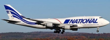 JC4490 | JC Wings 1:400 | Boeing 747-400BCF National Airlines N756CA | is due: January 2021