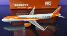 NG13021 | NG Model 1:400 | Airbus A321neo Easyjet G-UZMA