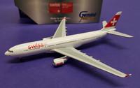 GJSWR360 Gemini Jets 1:400 Airbus A330-200 Swiss International Airlines HB-IQC