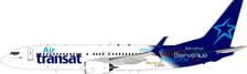 JF-737-8-028 | JFox Models 1:200 | Boeing 737-8Q8 Air Transat C-GTQF (with stand) | is due: January 2021