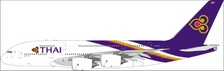 PH11665 | Phoenix 1:400 |  Airbus A380-800 Thai Airlines HS-TUB | is due: January-2021