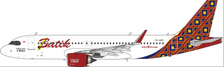 PH11656 | Phoenix 1:400 | Airbus A320neo Air Batik PK-BDF | is due: January-2021