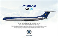 APGASGR | Gifts | Airliner Print G-ASGR VC-10-1151 BOAC