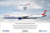 APGXWBA | Gifts | Airliner Print G-XWBA A350-1041 British Airways