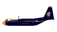 GMUSM103 | Gemini Jets 1:400 | C-130-J Hercules US Marines Blue Angels 170000 (with stand) is due: February-2021