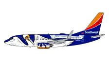 G2SWA926 | Gemini200 1:200 | Boeing 737-700 Southwest N946WN Louisisna One | is due: February 2021