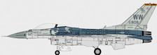 CBW721603   Calibre Wings 1:72   F-16C Fighting Falcon Block 50(AF 90-808) USAF 35FW/14FS Samurais   is due: April 2021