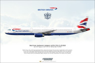 APGEUXH | Gifts | Airliner Print G-EUXH Airbus A321-231 British Airways