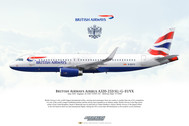 APGEUYX | Gifts | Airliner Print Airbus A320-232 G-EUYX British Airways