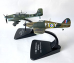 MAGLF002 | Miscellaneous 1:72 | Hawker Hurricane Mk.1 RAF 43 Squadron and Junkers JU-87 Luftwaffe twin set