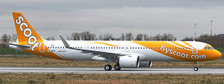 JCEW221N012 | JC Wings 1:200 | A321NEO SCOOT REG: 9V-TCA | is due:March-2021