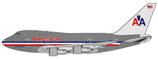 JC4964 | JC Wings 1:400 | Boeing 747SP AMERICAN AIRLINES REG: N601AA | is due: March-2021