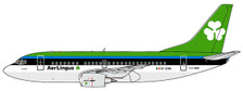 JC4884 | JC Wings 1:400 | Boeing 737-500 AER LINGUS REG: EI-CDA | is due: March-2021