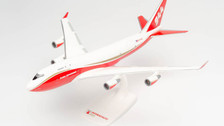 612609 | Herpa Snap-Fit (Wooster) 1:250 | Boeing 747-400 Global Supertanker Services N744ST | is due: May 2021