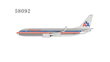 NG58092 | NG Model 1:400 | Boeing 737-800/w American N936AN chrome finish | is due: February 2021