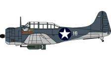 OXAC110 | Oxford Die-cast 1:72 | Douglas Dauntless SBD-2 VMSB-233 Guadalcanal 1943 | is due: May 2021
