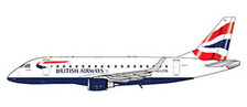 GJBAW1517 | Gemini Jets 1:400 1:400 | Embraer E170 BA Cityflyer | is due: May 2021