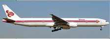 JCLH4172A | JC Wings 1:400 | Boeing 777-300 Thai Airways Old Livery HS-TKE Flaps down | is due: May 2021