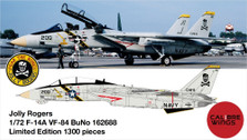 CBW72JR04 | Calibre Wings 1:72 | F-14A VF-84 162688 JOLLY ROGERS | is due: June 2021
