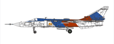 CBW722407 | Calibre Wings 1:72 | SU-24MR Russian Air Force 'yellow 40' | is due: July 2021