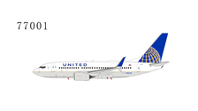 NG77001 | NG Model 1:400 | Boeing 737-700w United N16732 | is due: May 2021