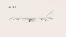NG53167 | NG Model 1:400 | Boeing 757-200/C-32B USAF 99-6143 | is due: May 2021
