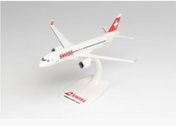 613323 | Herpa Snap-Fit (Wooster) 1:200 | Airbus A220-300 Swiss International Air Lines HB-JCQ | is due: September-2021