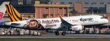 EW2320015 | JC Wings 1:200 | Airbus A320 Tigerair Rakuten Monkeys scheme B-50006 | is due: May 2021