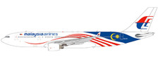 LH2162 | JC Wings 1:200 | Airbus A330-200 Malaysian Airlines Negaraku 9M-MTZ (with stand) | is due: May 2021