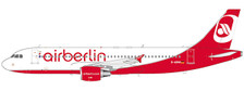 LH2201 | JC Wings 1:200 | Airbus A320 Air Berlin D-ABNW last flight (with stand) | is due: May 2021
