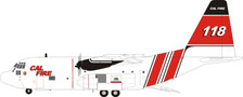 IF130CALF118 | InFlight200 1:200 | Lockheed HC-130H Hercules California Fire Service N118Z (with stand) | is due: May 2021