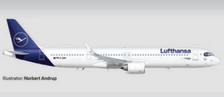 534376-001   Herpa Wings 1:500   Lufthansa Airbus A321neo – D-AIEF Forchheim   is due: September-2021