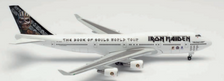 535564   Herpa Wings 1:500   Iron Maiden (Air Atlanta Icelandic) Boeing 747-400 Ed Force One - The Book of Souls World Tour 2016 - TF-AAK  is due: September-2021