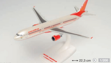 613415   Herpa Snap-Fit (Wooster) 1:200   Air India Airbus A321 – VT-PPX  is due: September-2021