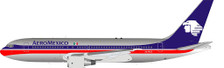 IF762AM0621P   InFlight200 1:200   Boeing 767-200 Aero Mexico XA-RVZ (polished, with stand)   is due:July 2021