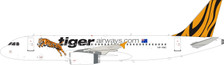 IF320TT0821   InFlight200 1:200   Airbus A320-232 Tiger Air VH-VNC (with stand)   is due: July 2021