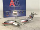 JET374 Jet-x 1:400 BAe 146-200 American Airlines 'Polished' N695AA