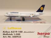 508933 Airbus A319-100 Lufthansa 'Russelsheim' D-AILC