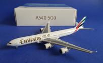 507387 Herpa Wings 1:500 Airbus A340-500 Emirates A6-ERA