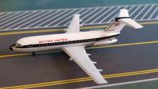 ACGASJJ Aero Classics 1:400 British Aerospace BAC-111 British United Airlines 'Delivery Colours' G-ASJJ