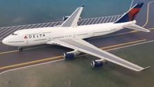 GJDAL902 | Gemini Jets 1:400 1:400 | Boeing 747-400 Delta Air Lines N665US