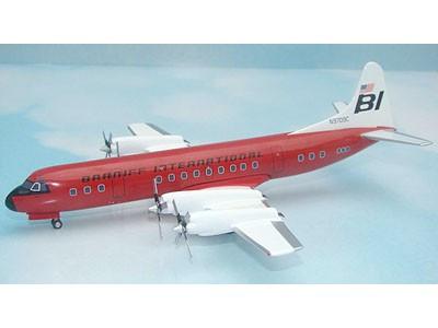 CA9C-5 Western Models 1:200 Lockheed L-188 Electra Braniff