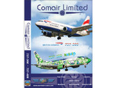 CAW1 World Air Routes (Just Planes) DVD Comair Boeing 737 249 Minutes (NO COVER)